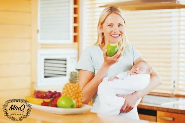 Tại sao mẹ sau sinh nên dùng trà giảm cân mộc minh?