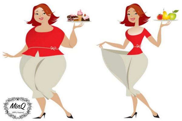 12 lưu ý về ăn uống không nên bỏ qua khi giảm cân với Đông y Collagen