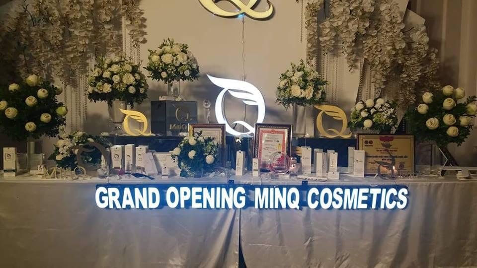 Công ty MinQ Natural cho ra mắt dòng sản phẩm mới Mỹ phẩm sạch MinQ Cosmetics