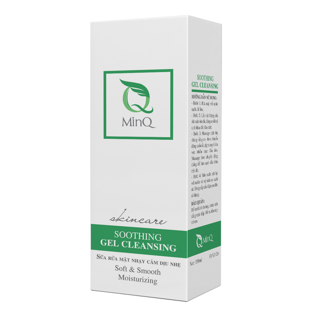 Soothing Gel Cleansing - Sữa rửa mặt nhạy cảm dịu nhẹ
